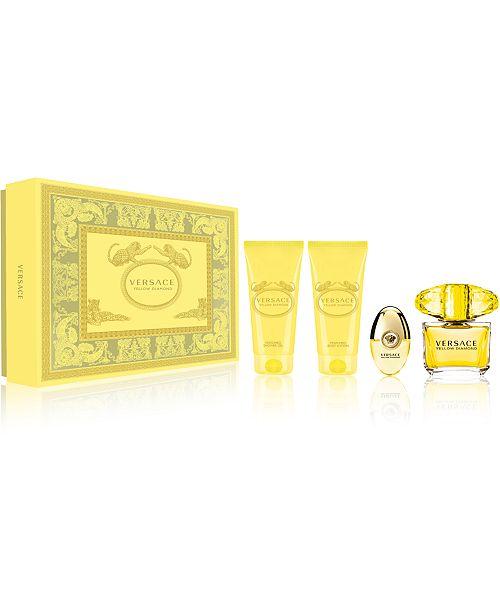 Versace 4-Pc. Yellow Diamond Eau de Toilette Gift Set