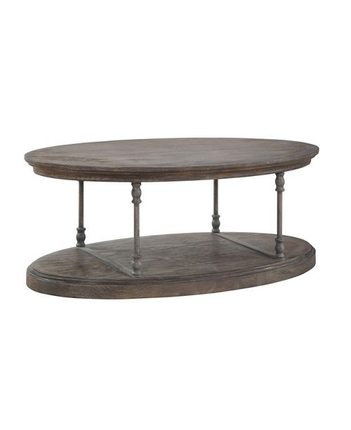 Coast to Coast Corbin Oval Cocktail Table, Quick Ship