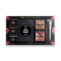 7-Piece NYX Professional Makeup Love Lust Disco Highlight Vault Set