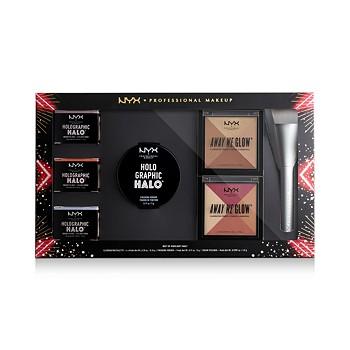 7-Piece NYX Professional Makeup Love Lust Disco Highlight Vault Set