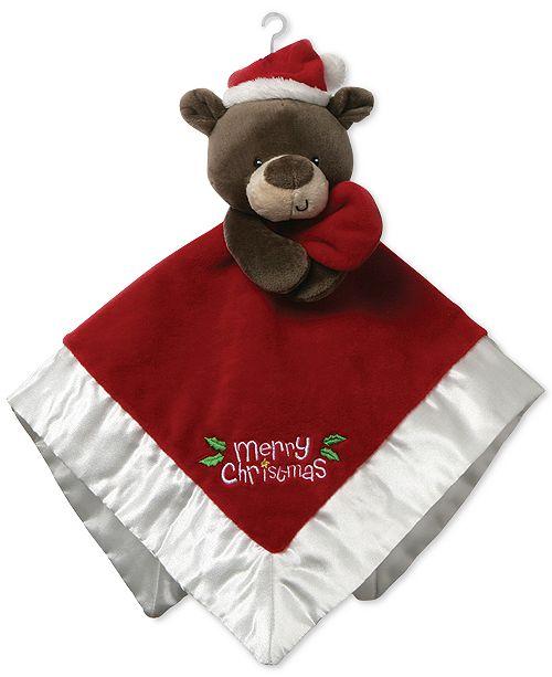 Gund® CLOSEOUT! Baby Boys or Girls Bear Merry Christmas Lovey