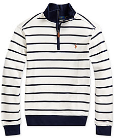 Polo Ralph Lauren Big Boys Cotton Interlock Stripe Pullover