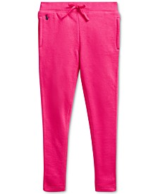 Toddler Girls Terry Fleece Leggings