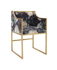 Atara Floral Velvet Chair