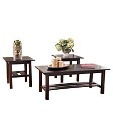 Ashley Furniture Lewis Table Set of 3