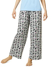 Women's Cotton Frenchiez Pajama Pants