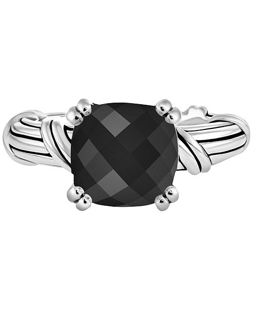 Peter Thomas Roth Onyx Statement Ring (4-1/3 ct. t.w.) in Sterling Silver