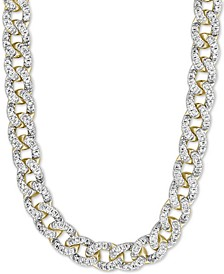 "Diamond Link 16"" Statement Necklace (2-1/2 ct. t.w.) in 14k Gold"