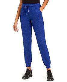 Ideology Mushy-Knit Joggers, Created for Macy's