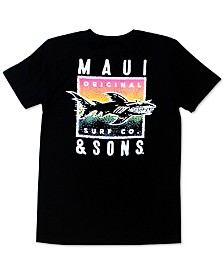 Maui and Sons Men's In The Deep Logo Graphic T-Shirt