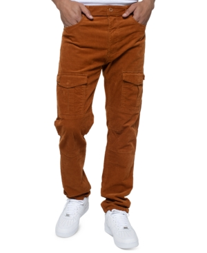 Shake up your everyday collection Sean John\'s stretch-cotton corduroy pants, presenting a one-of-a-kind look that\'s styled at the thighs with unique epaulette pockets. (Clearance)