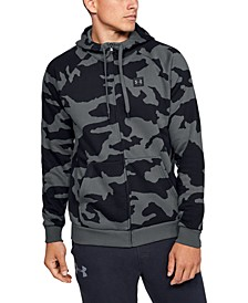 Men's Rival Fleece Camo Zip Hoodie