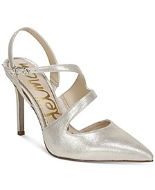 Hollyn Strappy Slingback Pumps