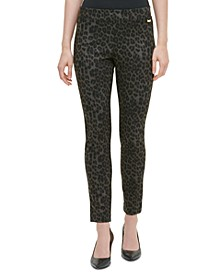 Animal Print Compression Pants