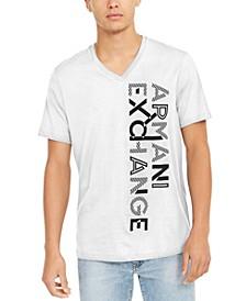Men's V-Neck Logo T-Shirt