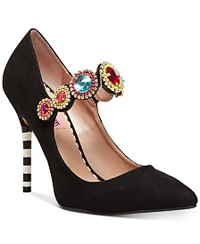 Betsey Johnson Jodi Jeweled Pumps