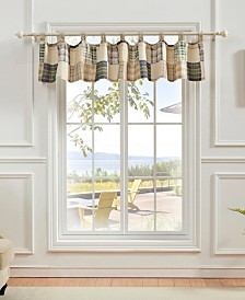 Greenland Home Fashions Oxford Window Valance