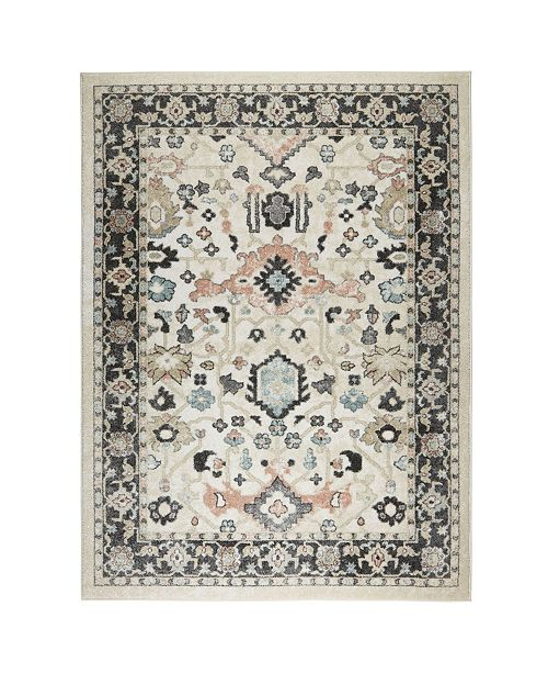 "Shabby Chic New Weave Paige Ivory 3'11"" x 5'4"" Area Rug"