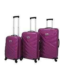 Veneto 3-Piece Hardside Luggage Set