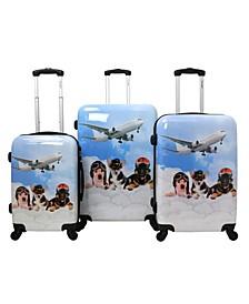 Pilots 3-Piece Hardside Luggage Set