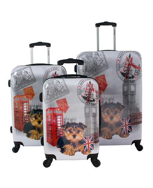 Chariot UK 3-Piece Hardside Luggage Set