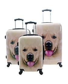 Labrador 3-Piece Hardside Luggage Set