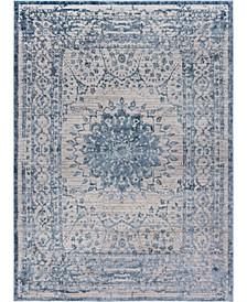 Aitana Ait1 Blue Area Rug Collection
