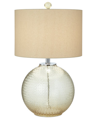 CLOSEOUT! Pacific Coast Glass with Bubble Pattern Table Lamp
