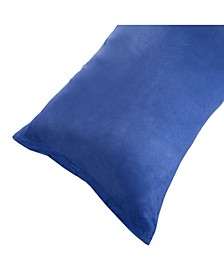 Home Soft Micro-Suede Pillowcase with Zipper