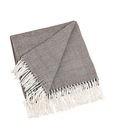 Classic Herringbone Throw