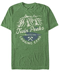 Men's Logging Camp Logo Short Sleeve T-Shirt