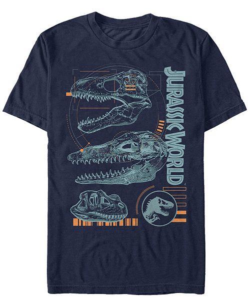 Jurassic World Men's Scales Slash Short Sleeve T-Shirt