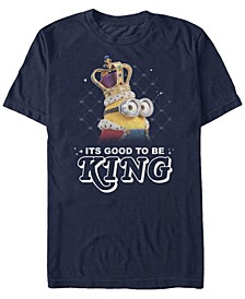 Illumination Men's Despicable Me It's Good To Be King Short Sleeve T-Shirt