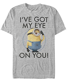 Illumination Men's Despicable Me Got My Eyes On You Short Sleeve T-Shirt