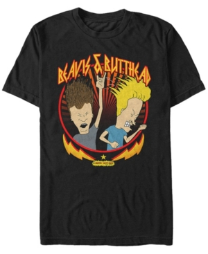 Mtv Men's Metal Head Short Sleeve T-Shirt