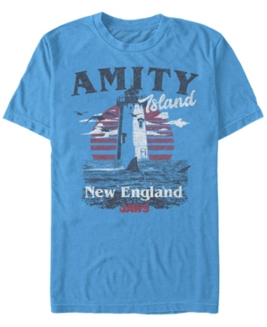 Men's Amity Island Destination Short Sleeve T-Shirt