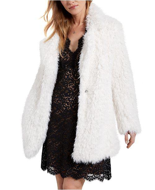 Karen Kane Faux-Fur Jacket