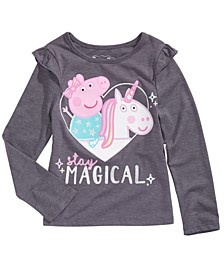 Peppa Pig Little Girls Stay Magical T-Shirt