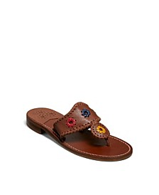 Natural Jacks Flat Sandals