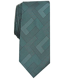 Men's Slim Abstract Geometric Tie, Created For Macy's