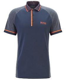 BOSS Men's Paule Pro 3 Slim-Fit Golf Polo Shirt