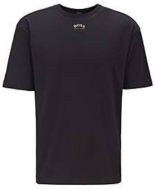 BOSS Men's Talboa 1 Retro-Style Cotton T-Shirt