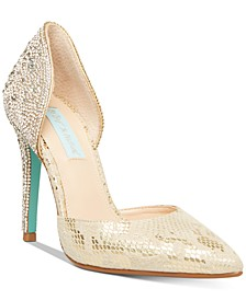 Yara Embellished Evening Shoes