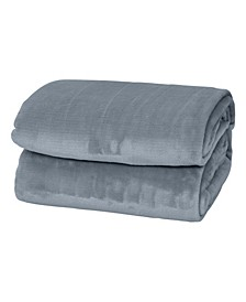 Silky Soft Thick Plush Blanket - King