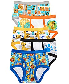 Little & Big Boys 5-Pk. The Lion King Cotton Briefs