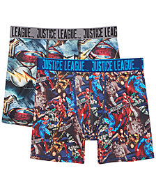 DC Comics 2-Pk. Justice League Boxer Briefs, Little Boys & Big Boys