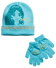 Big Girls 2-Pc. Aladdin Jasmine Hat & Gloves Set