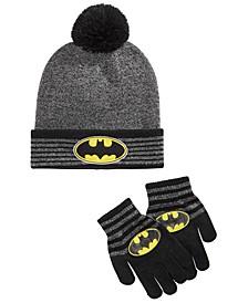 Big Boys 2-Pc. Beanie Hat & Gloves Set