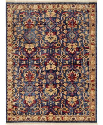Borough Bor1 Blue 8' x 10' Area Rug