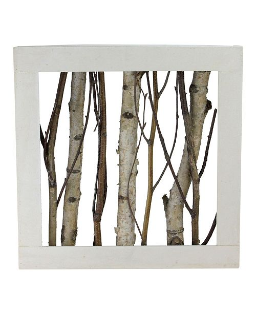 Northlight Mixed Branches in Wood Box Table Top Decoration